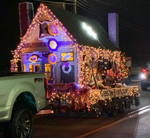 Magic on Main Christmas Parade Andrews NC 2018 - 2019