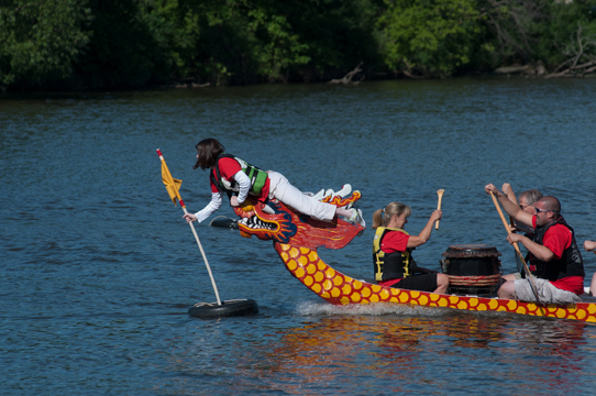 Pride of the Fox RiverFest St Charles IL 2010 - 2015 Dragon Boat Racing