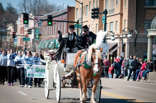 St Patricks Day Parade St Charles IL 2012